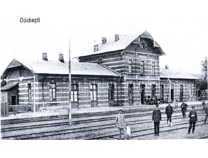 Gara Odobesti_1917