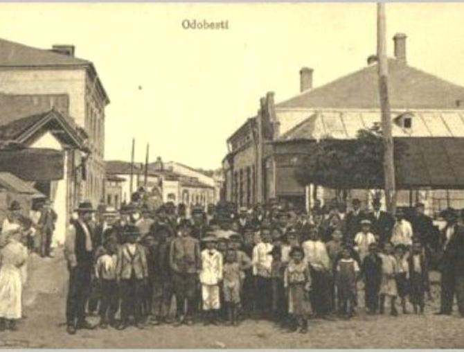 Orasul Vechim cartierul evreiesc Odobesti