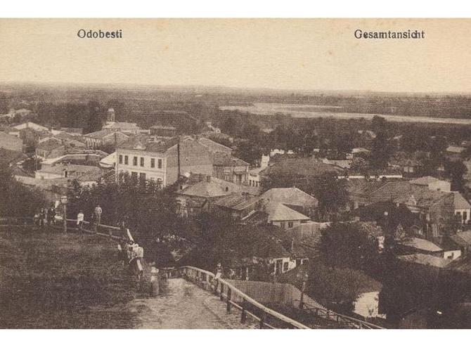 Orasul vazut din Dealul Odobestilor (1)